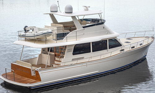 Grand debut of the Grand Banks 54