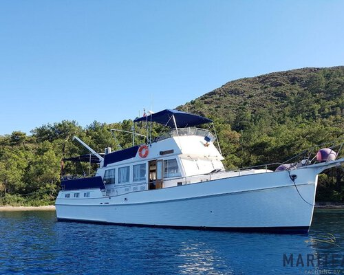 Grand Banks 49 Motoryacht 'Pacific Breeze'