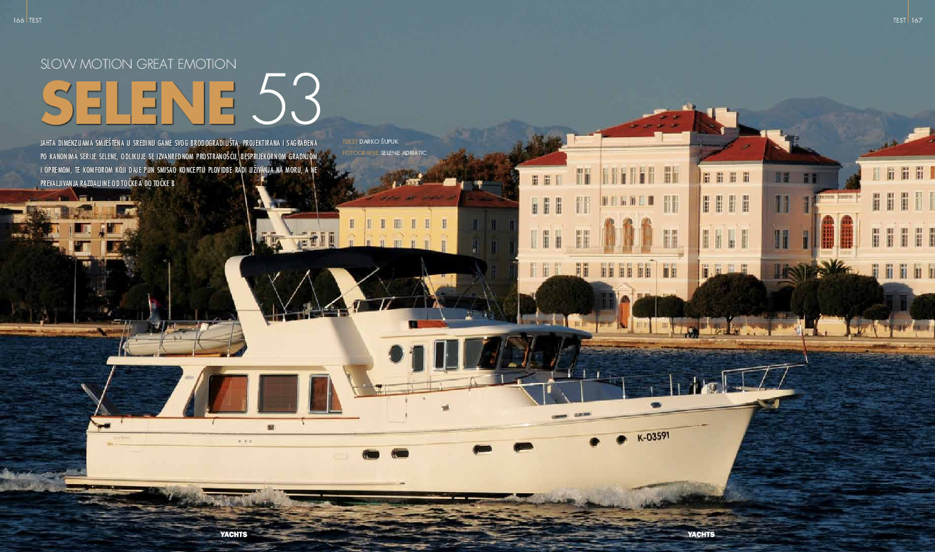 Yachts Croatia - Slow Motion Great Emotion Selene 53
